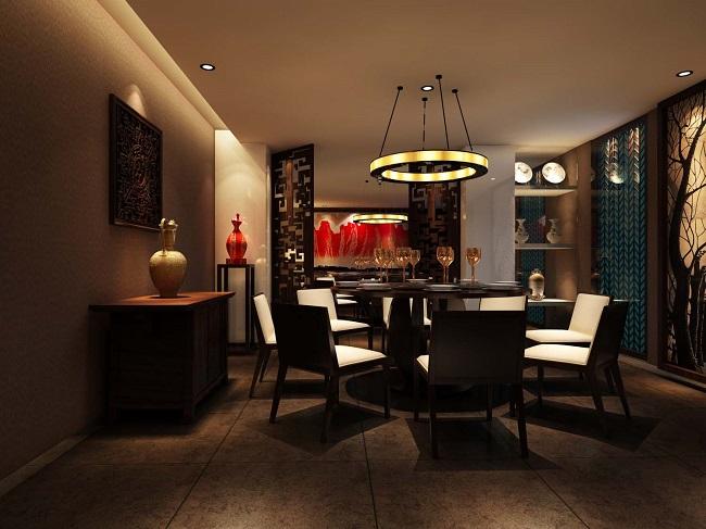 时尚新中式餐馆设计方案